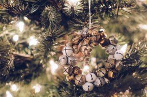 Christmas tree ornament of bells
