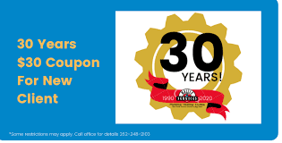 30 years $30 coupon for new client