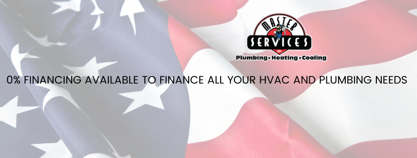 Offer - 0% Finance Available to Finance All Your HVAC and Plumbing Needs